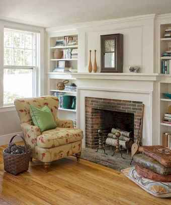 80 incridible rustic farmhouse fireplace ideas makeover (47)