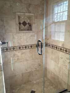 80 stunning tile shower designs ideas for bathroom remodel (19)