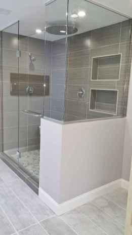 80 stunning tile shower designs ideas for bathroom remodel (38)