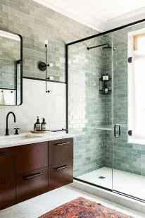 80 stunning tile shower designs ideas for bathroom remodel (43)