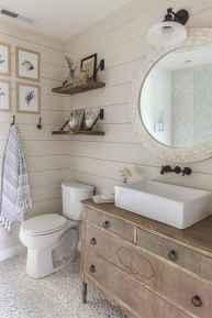 110 spectacular farmhouse bathroom decor ideas (20)