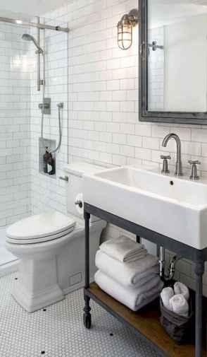 110 spectacular farmhouse bathroom decor ideas (26)