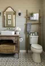 110 spectacular farmhouse bathroom decor ideas (97)