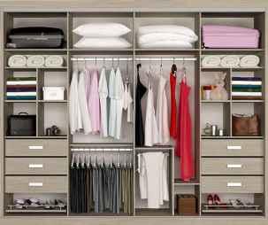 120 brilliant wardrobe ideas for first apartment bedroom decor (110)