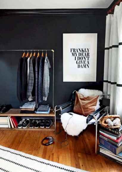120 brilliant wardrobe ideas for first apartment bedroom decor (29)