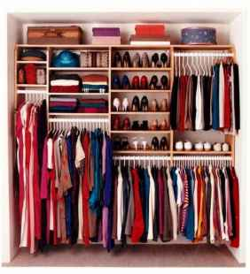120 brilliant wardrobe ideas for first apartment bedroom decor (87)