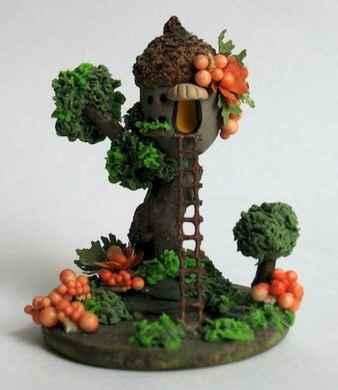 120 easy to try diy polymer clay fairy garden ideas (112)
