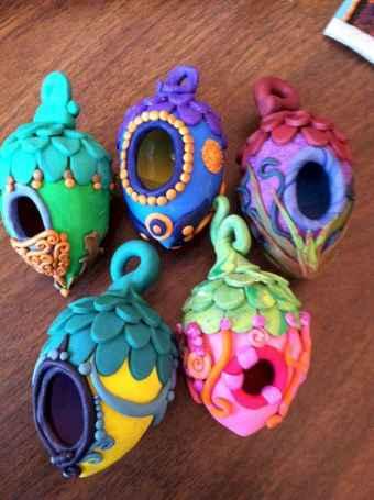 120 easy to try diy polymer clay fairy garden ideas (7)
