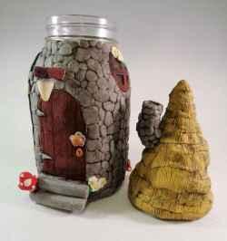 120 easy to try diy polymer clay fairy garden ideas (74)