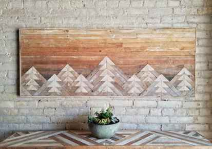 22 diy painted ombre wall for apsrtment decor ideas (12)