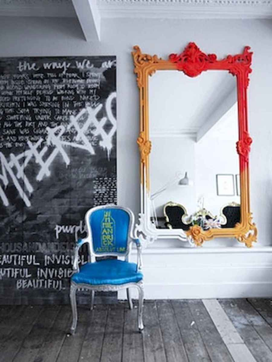22 stunning diy painted mirror designs ideas (4)