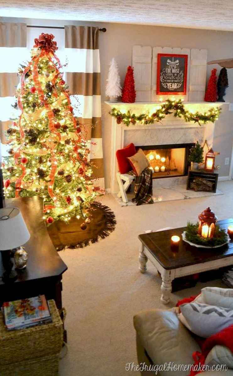 25 awesome christmas decorations apartment ideas (32)