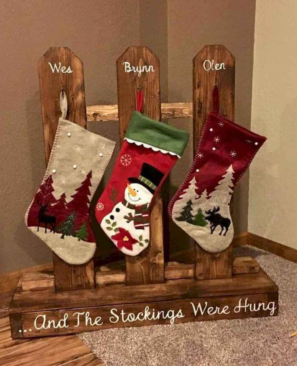 25 gorgeous diy crafts wooden christmas ideas (14)