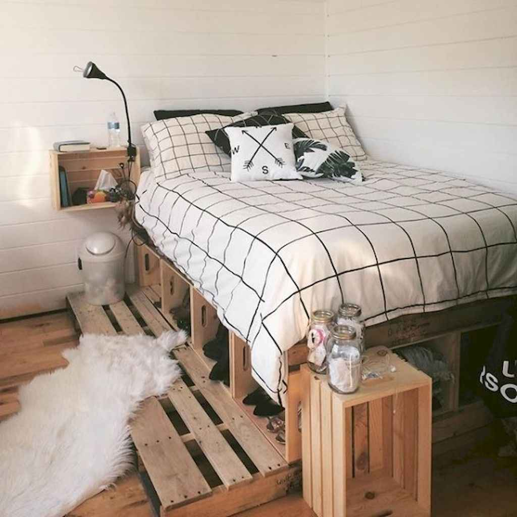 30 amazing college apartment bedroom decor ideas (19 ...