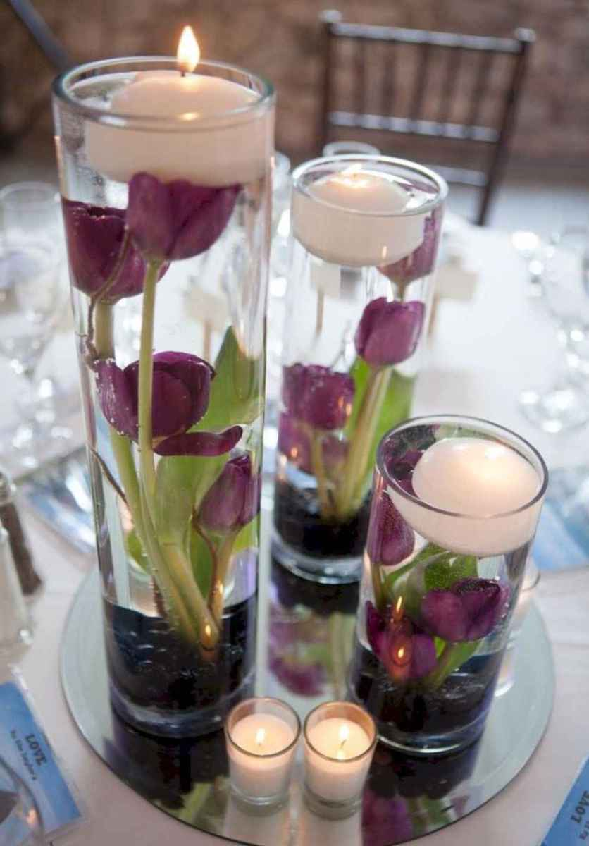 40 diy floating candles crafts ideas (1)