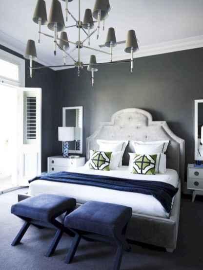 40 navy master bedroom decor ideas (38)