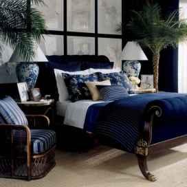 40 navy master bedroom decor ideas (6)