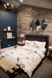 40 navy master bedroom decor ideas (7)