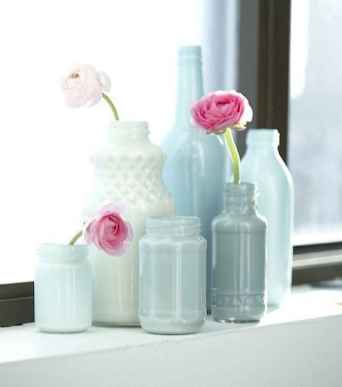 44 diy painted ombre vases crafts ideas on a budget (20)