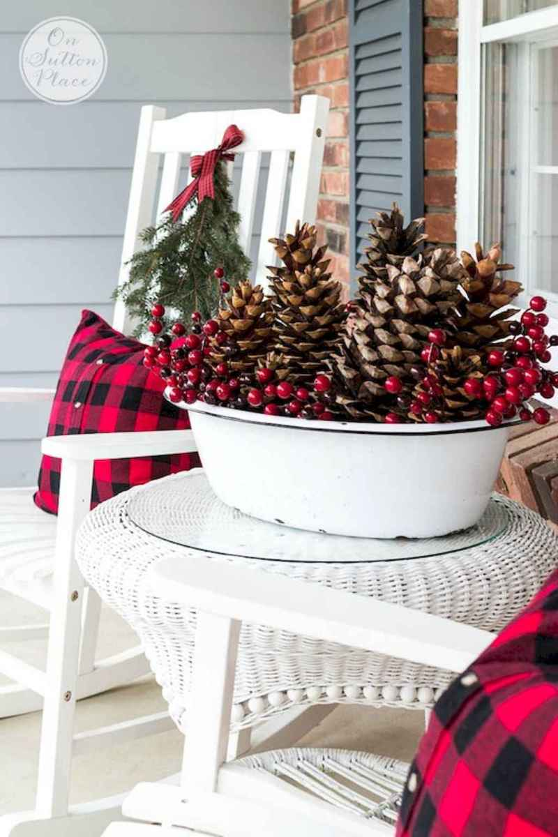 45 outdoor pine cones christmas decorations ideas (26)