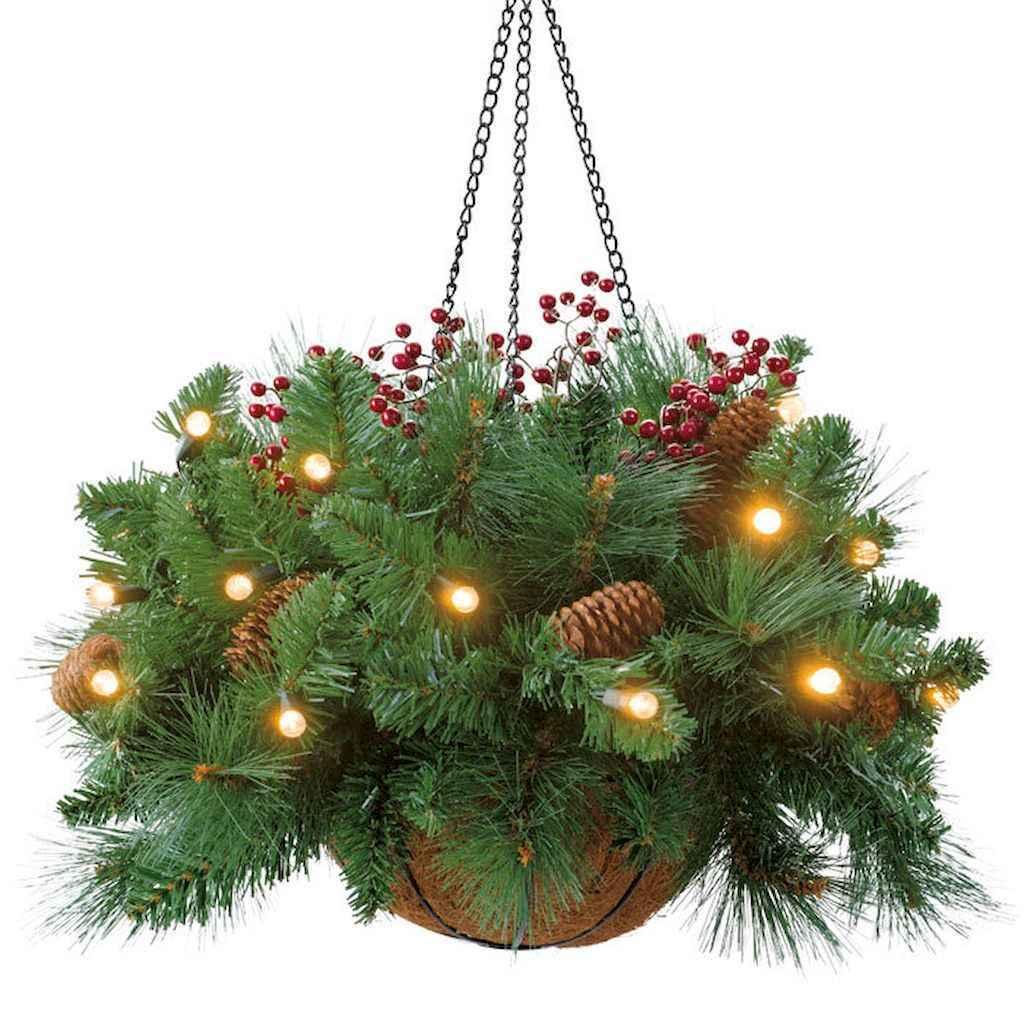 45 outdoor pine cones christmas decorations ideas (40)