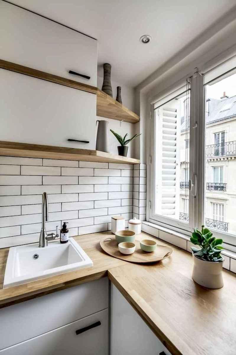 50 amazing small apartment kitchen decor ideas (35 ...