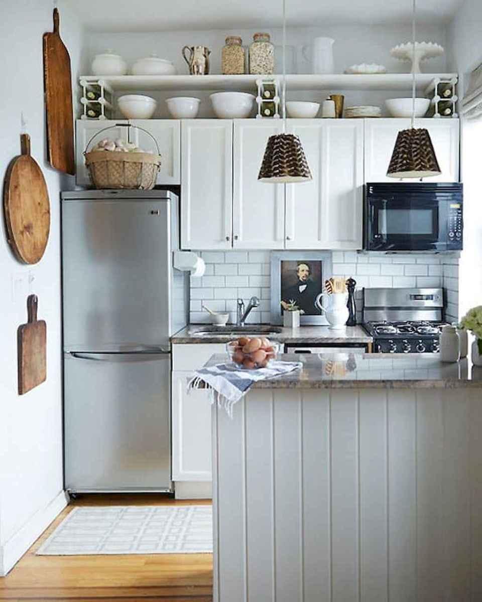 50 amazing small apartment kitchen decor ideas (7 ...