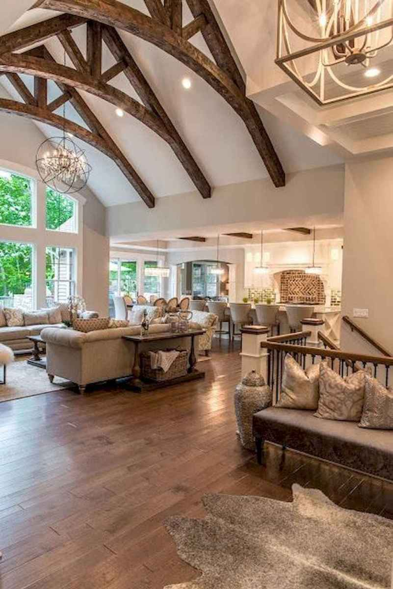 50 elegant rustic apartment living room decor ideas (16)