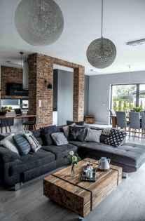 50 elegant rustic apartment living room decor ideas (43)