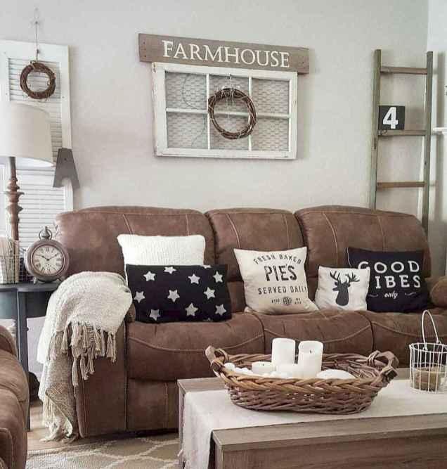 50 elegant rustic apartment living room decor ideas (49)