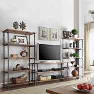 50 elegant rustic apartment living room decor ideas (8)