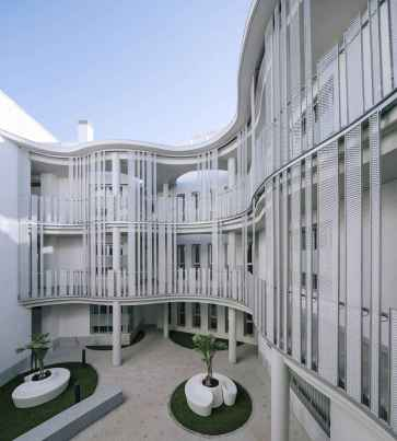 50 marvelous modern facade apartment decor ideas (39)