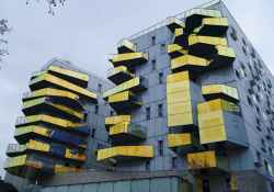 50 marvelous modern facade apartment decor ideas (44)