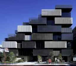 50 marvelous modern facade apartment decor ideas (51)