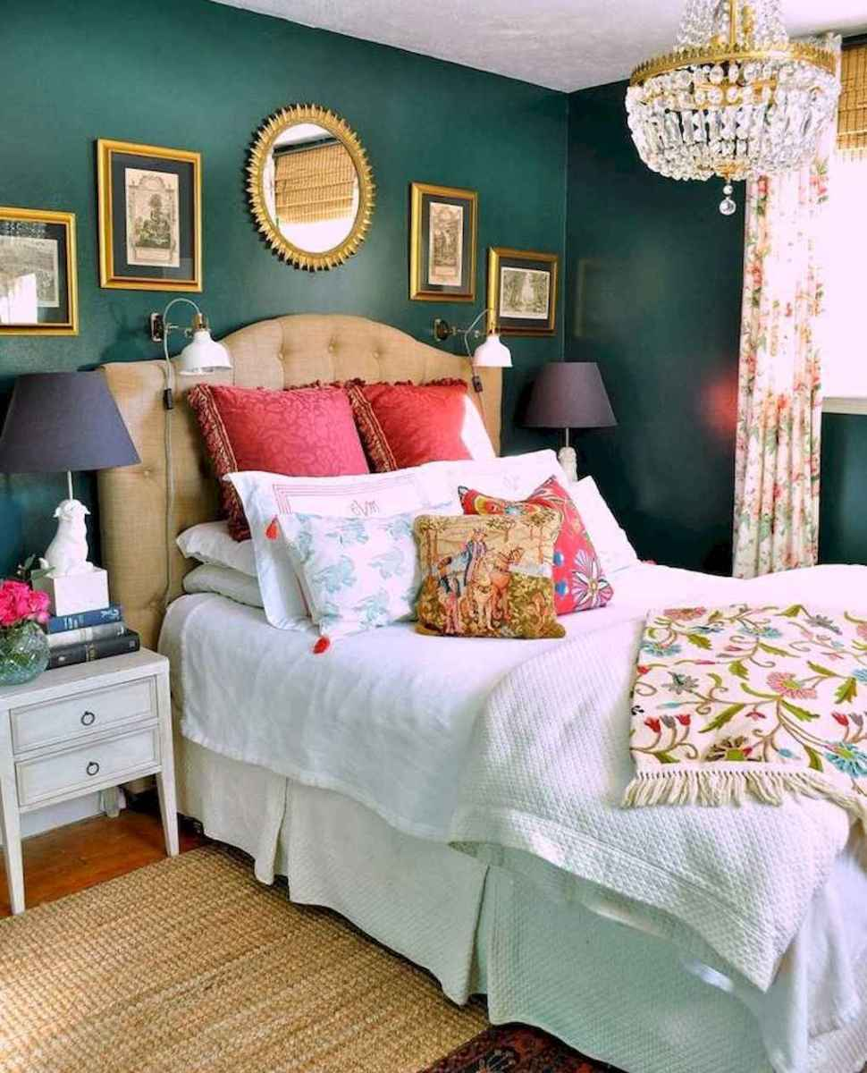 60 cool eclectic master bedroom decor ideas (23)