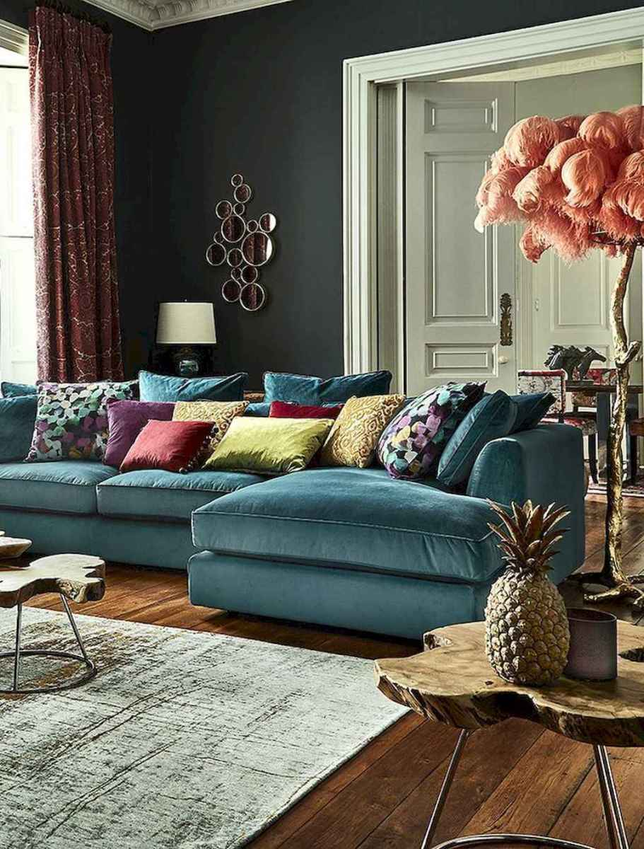 60 cool eclectic master bedroom decor ideas (3)