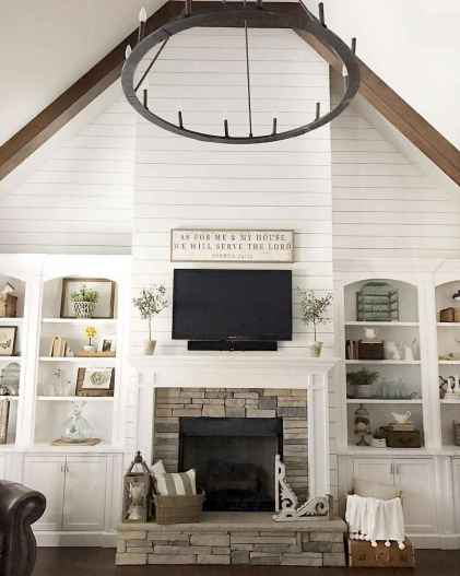 60 cool modern farmhouse living room decor ideas for Room 422 decor