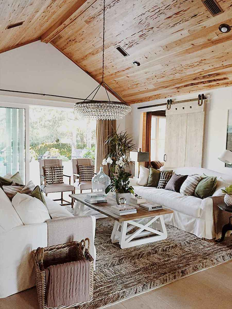 44 Living Room With High Ceiling Designs High Ceiling: 60 Cool Modern Farmhouse Living Room Decor Ideas (44