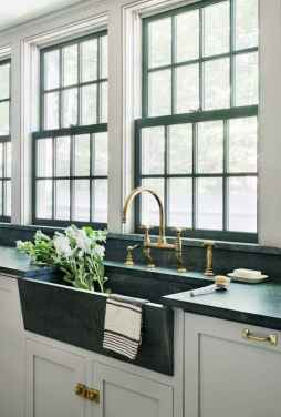 60 fancy farmhouse kitchen backsplash decor ideas (12)