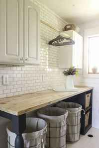 60 fancy farmhouse kitchen backsplash decor ideas (33)