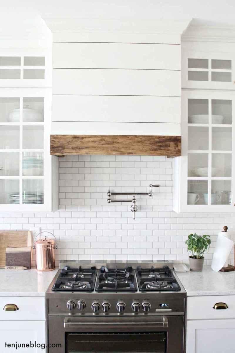 60 fancy farmhouse kitchen backsplash decor ideas 48 - Farmhouse Kitchen Backsplash