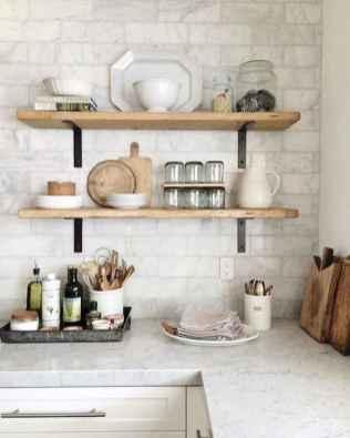 60 fancy farmhouse kitchen backsplash decor ideas (54)