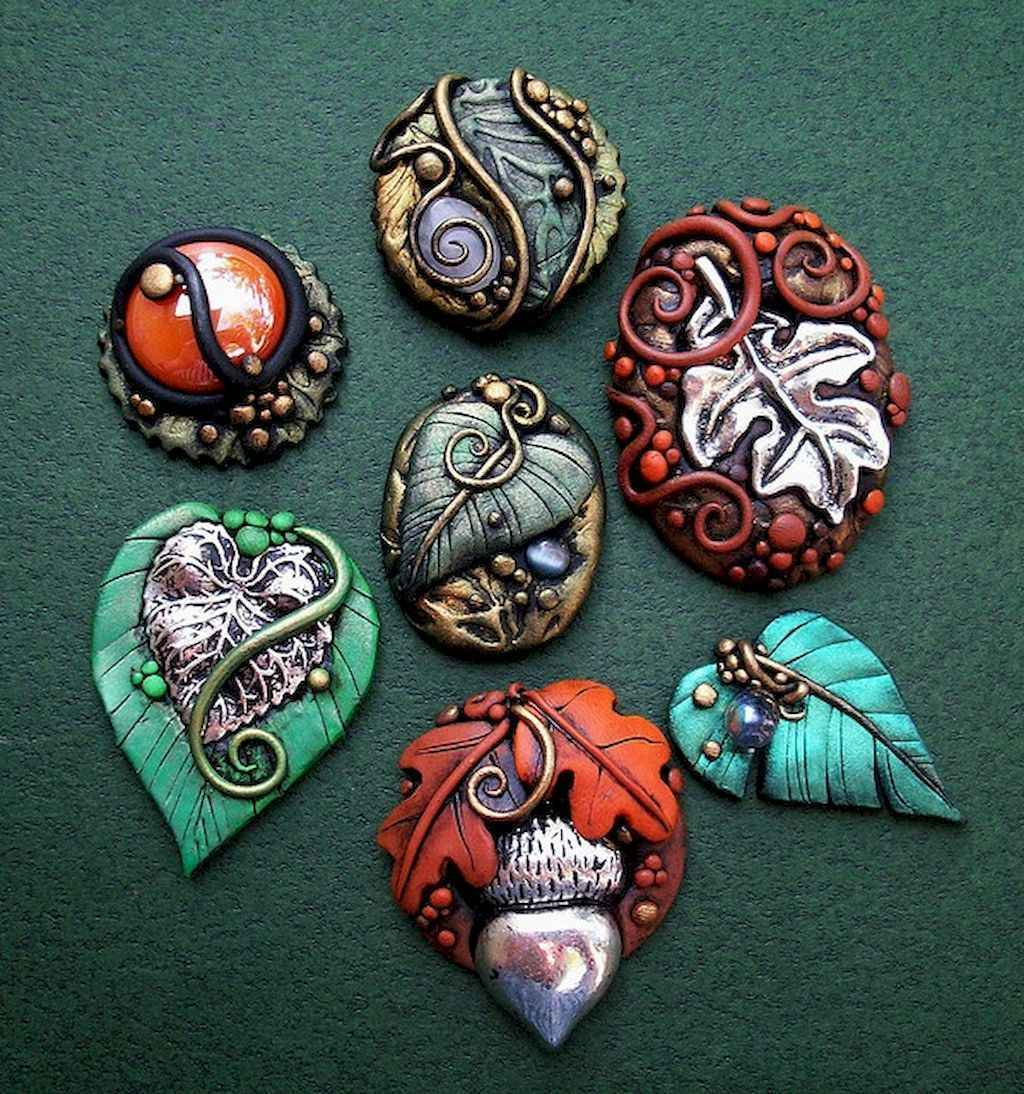 70 beauty and easy polymer clay ideas for beginners (37)