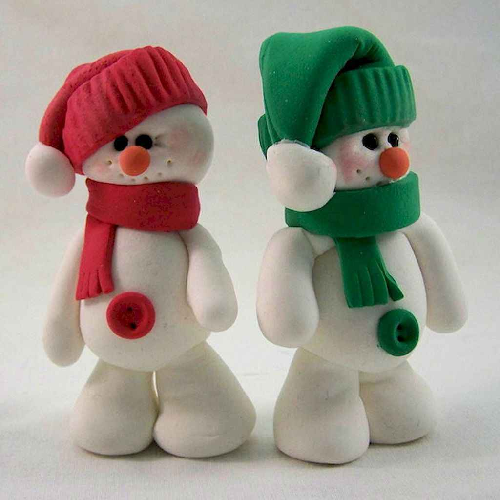 70 beauty and easy polymer clay ideas for beginners (52)