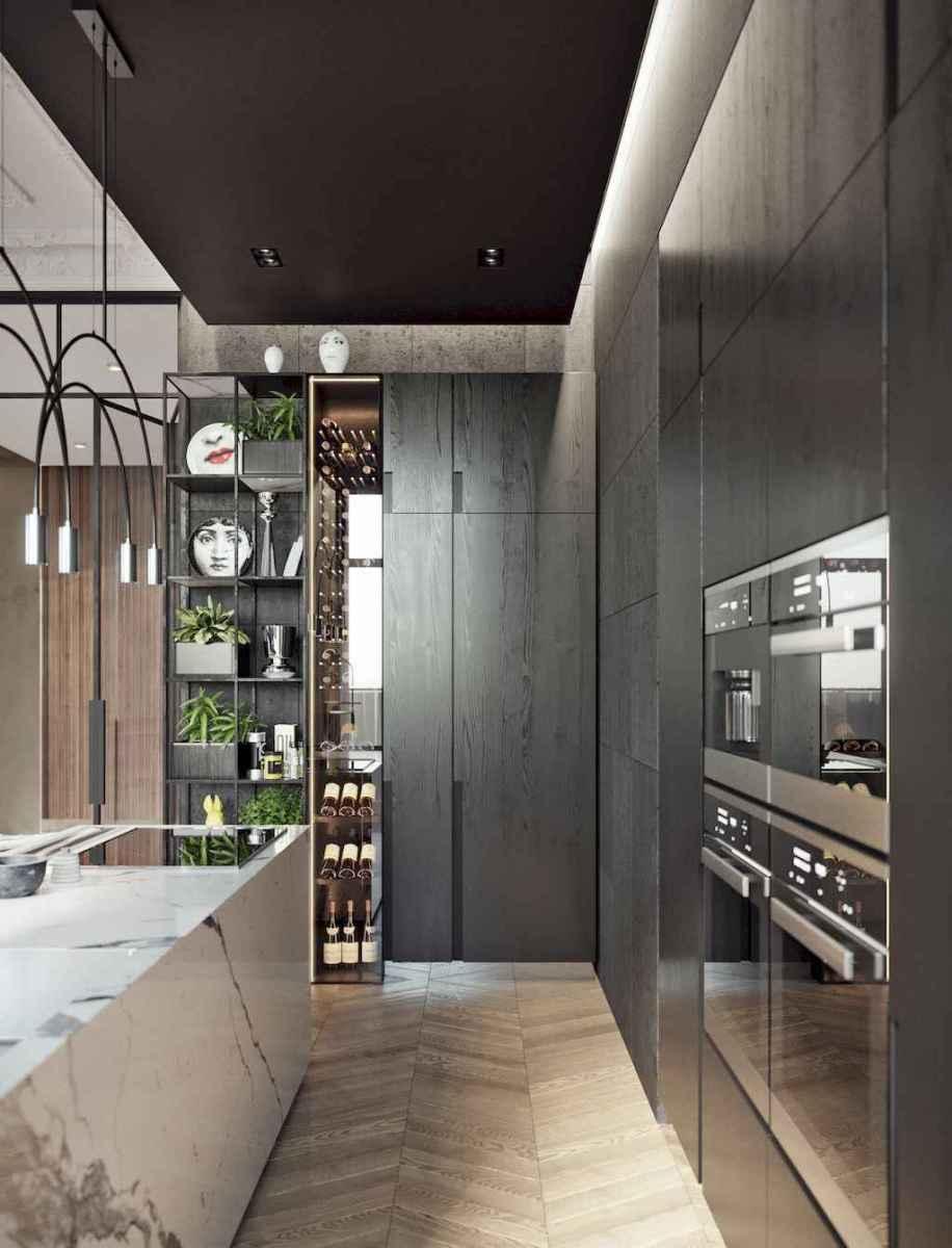 70 cool modern apartment kitchen decor ideas (1)