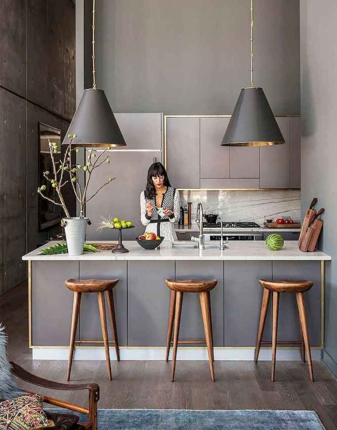 Published December 28 2017 At 1024 1306 In 70 Cool Modern Apartment Kitchen Decor Ideas