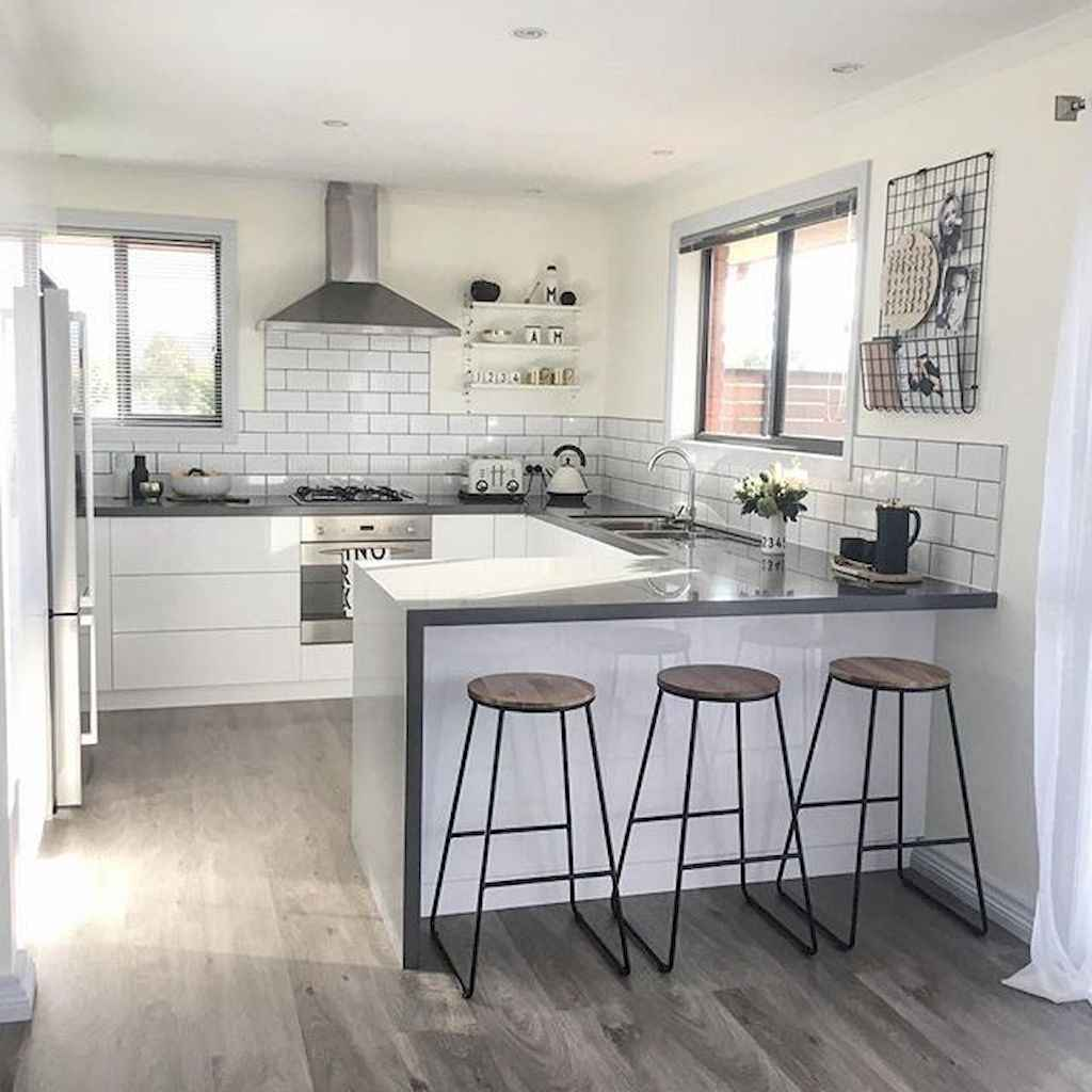 70 cool modern apartment kitchen decor ideas (51)