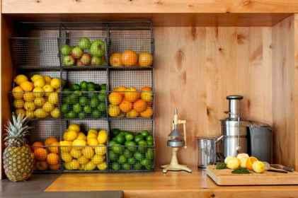 70 surprising apartment kitchen organization decor ideas (46)