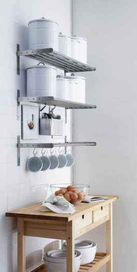 70 surprising apartment kitchen organization decor ideas (61)