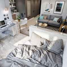 77 magnificent small studio apartment decor ideas (11)